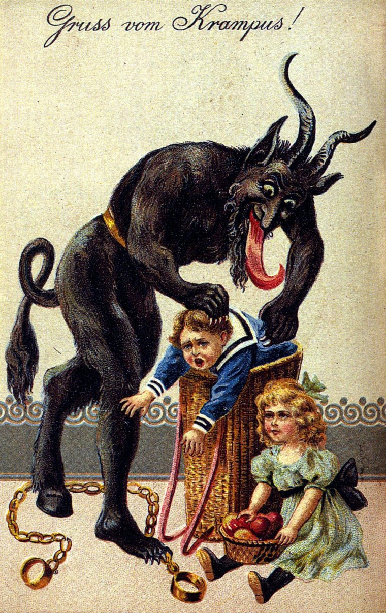 A Merry Belated Krampusnacht to One and All!
